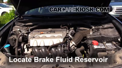 2009 Acura TSX 2.4L 4 Cyl. Brake Fluid