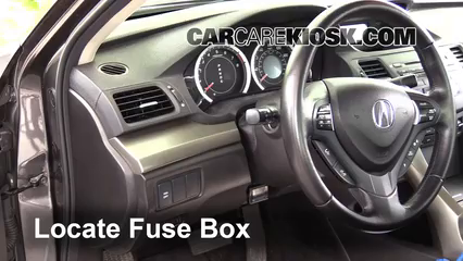 interior fuse box location 2009 2014 acura tsx 2009 acura tsx 2 4 rh carcarekiosk com 2008 Acura TL Engine Drawing 2009 acura tl fuse box location
