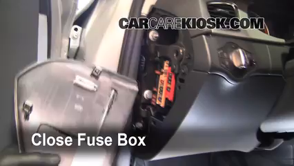 interior fuse box location: 2009-2016 audi a4 quattro - 2009 audi a4  quattro 2 0l 4 cyl  turbo