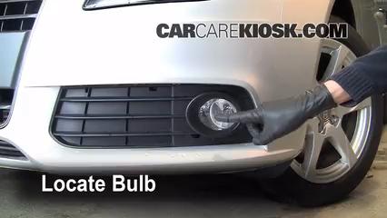 2009 audi a4 quattro 2 0l 4 cyl  turbo lights fog light (replace bulb