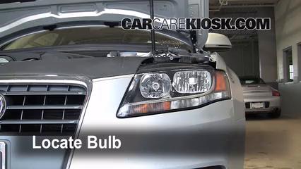 Headlight Change 2009-2016 Audi A4 Quattro - 2009 Audi A4