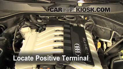 How To Jumpstart A 2007 2015 Audi Q7 2009 Audi Q7 Premium 36l V6