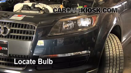 Headlight Change 2007-2015 Audi Q7 - 2009 Audi Q7 Premium