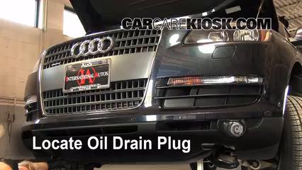Oil Filter Change Audi Q7 2007 2015 2009 Audi Q7 Premium 36l V6