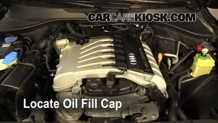 How To Add Oil Audi Q7 2007 2015 2009 Audi Q7 Premium 36l V6