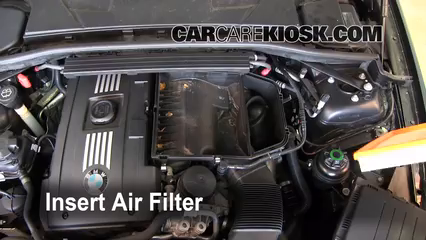 BMW I Engine Air Filter Check BMW I L - 2008 bmw 335i performance