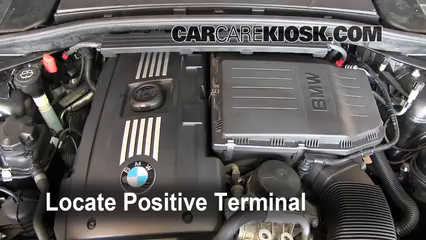 How to Jumpstart a 2008-2013 BMW 135i - 2009 BMW 135i 3 0L 6