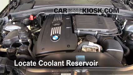 How To Add Coolant Bmw 135i 2008 2013 2009 Bmw 135i 3 0l 6 Cyl Turbo Coupe