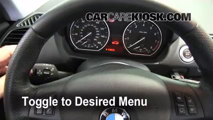 2009 BMW 135i 3.0L 6 Cyl. Turbo Coupe Clock