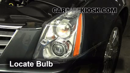 Headlight Change 2006 2011 Cadillac Dts 2009 Cadillac