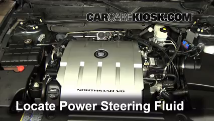 2009 Cadillac DTS Platinum 4.6L V8 Fluid Leaks Power Steering Fluid (fix leaks)