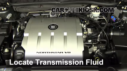 2009 Cadillac DTS Platinum 4.6L V8 Transmission Fluid Add Fluid