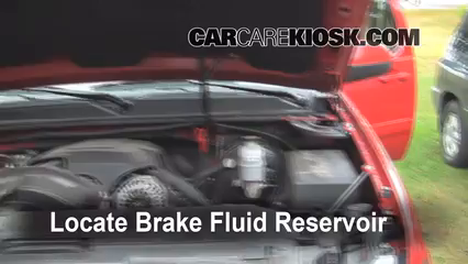 chevy avalanche brake fluid type