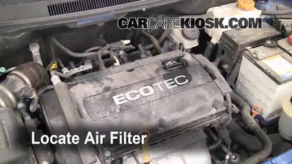 2007 chevrolet aveo ls fuel filter 2004 2011 chevrolet aveo engine air filter check 2009 chevrolet  2011 chevrolet aveo engine air filter