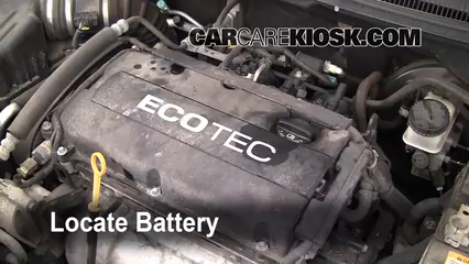2009 Chevrolet Aveo LS 1.6L 4 Cyl. Battery
