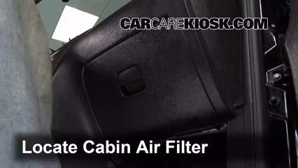 2009 Chevrolet HHR LS 2.2L 4 Cyl. FlexFuel Air Filter (Cabin)