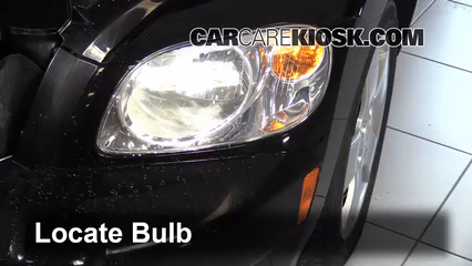 2009 Chevrolet HHR LS 2.2L 4 Cyl. FlexFuel Lights Headlight (replace bulb)