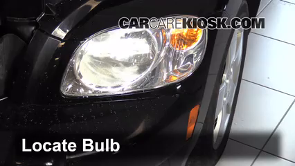 2009 Chevrolet HHR LS 2.2L 4 Cyl. FlexFuel Lights Turn Signal - Front (replace bulb)