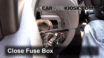 Interior Fuse Box Location: 2007-2014 Chevrolet Silverado ...