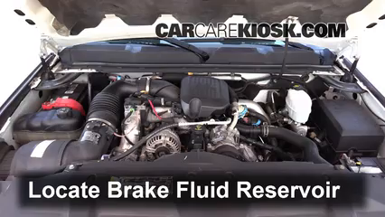 2009 Chevrolet Silverado 3500 HD LT 6.6L V8 Turbo Diesel Crew Cab Pickup (4 Door) Brake Fluid Check Fluid Level