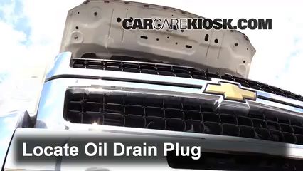 2009 Chevrolet Silverado 3500 HD LT 6.6L V8 Turbo Diesel Crew Cab Pickup (4 Door) Oil Change Oil and Oil Filter