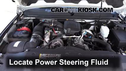 Check Power Steering Level Chevrolet Silverado 3500 HD (2007-2014) - 2009 Chevrolet Silverado ...