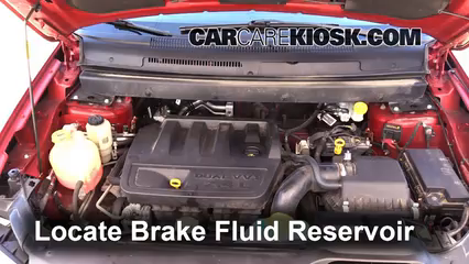 2009 Dodge Journey SE 2.4L 4 Cyl. Brake Fluid