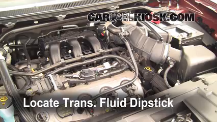 2006 f350 transmission fluid check