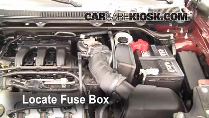 interior fuse box location 2009 2017 ford flex 2009 ford flex sel rh carcarekiosk com 2010 ford flex fuse box location picture Ford Fusion Fuse Box Location
