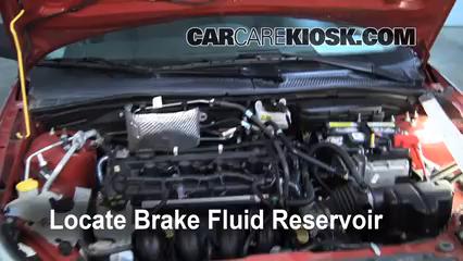 ford focus brake fluid level check  ford