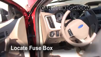 interior fuse box location 2008 2011 ford focus 2009 ford focus rh carcarekiosk com ford focus fuse box location 2009 ford focus fuse box location 2012