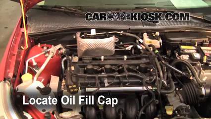Ford Focus Se  Cyl Sedan  Door Oil Add