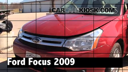 2009 Ford Focus SE 2.0L 4 Cyl. Sedan (4 Door) Review
