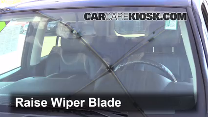 2009 GMC Envoy SLE 4.2L 6 Cyl. Windshield Wiper Blade (Front) Replace Wiper Blades