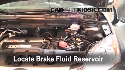 2009 Honda CR-V EX-L 2.4L 4 Cyl. Brake Fluid