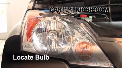 2009 honda cr-v ex-l 2 4l 4 cyl  lights headlight (