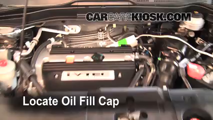 2009 Honda CR-V EX-L 2.4L 4 Cyl. Oil
