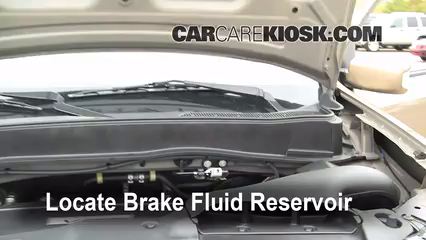 2009 Honda Pilot Touring 3.5L V6 Brake Fluid