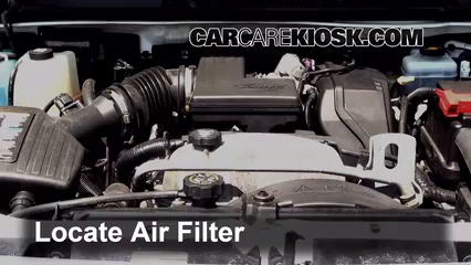 Air Filter How-To: 2006-2010 Hummer H3 - 2008 Hummer H3 3 7L