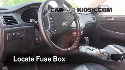 Fuse Interior Part 1 interior fuse box location 2009 2014 hyundai genesis 2009 Hyundai Elantra Fuse Box Diagram at n-0.co
