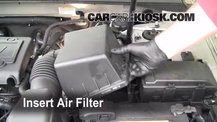 Air Filter How To 2006 2010 Hyundai Sonata 2008 Hyundai