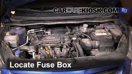 Replace a Fuse: 2008-2014 Hyundai i20 - 2009 Hyundai i20 Classic 1.2L 4 Cyl.CarCareKiosk