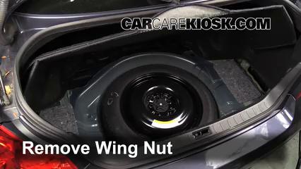 Fix a Flat Tire: Infiniti G37 (2008-2013) - 2012 Infiniti