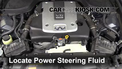 2008 Infiniti G35 3.5L V6 Power Steering Fluid