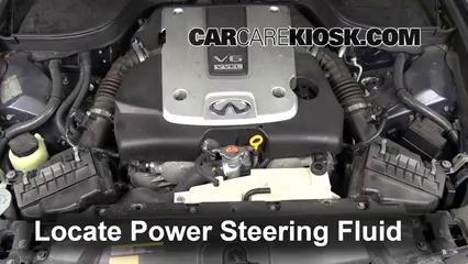 Fix Power Steering Leaks Infiniti G37 (2008-2013) - 2009