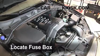 blown fuse check 2009-2015 jaguar xf - 2009 jaguar xf luxury 4.2l v8