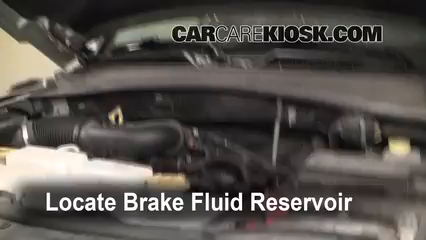 2009 Jeep Liberty Sport 3.7L V6 Brake Fluid