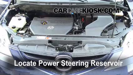 Follow These Steps to Add Power Steering Fluid to a Mazda 5