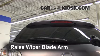 2009 Mazda CX-9 Touring 3.7L V6 Windshield Wiper Blade (Rear)