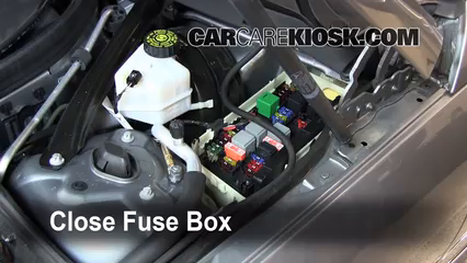 replace a fuse 2008 2015 mercedes benz c300 2009 mercedes benz lexus is250 fuse box 6 replace cover secure the cover and test component